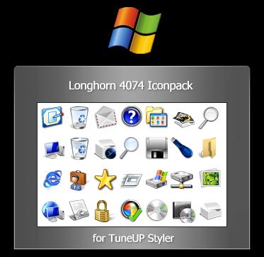 Longhorn Reloaded 4074 icons by fediaFedia