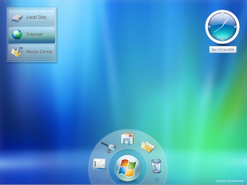 Windows Seven Gadgets BETA