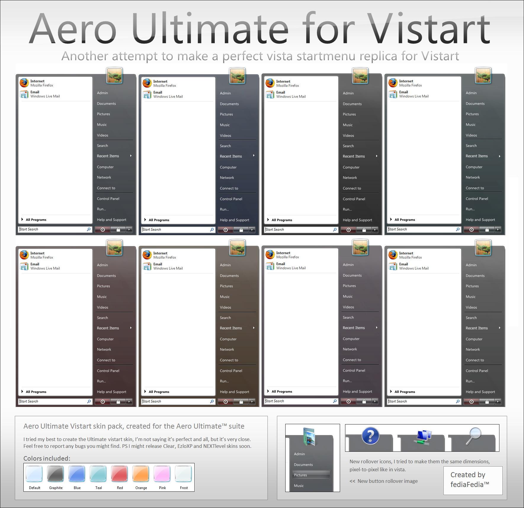 Aero Ultimate for Vistart