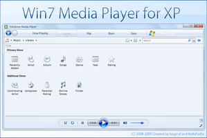 Win7 wmp11 for XP