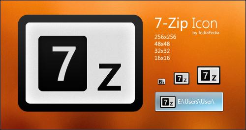 New 7-zip Icon by fediaFedia