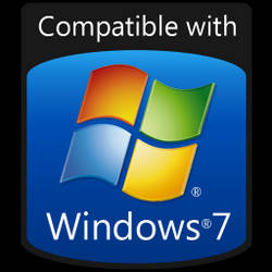 Compatible with Windows 7 icon