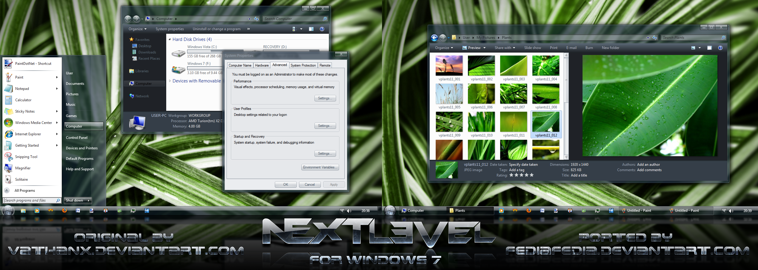 NEXTlevel port for Win7