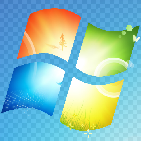Windows 7 Logo Transparent Win7 logo 490x490 byWindows 7 Logo Transparent