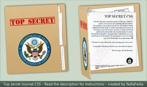 TOP SECRET journal CSS