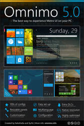 Omnimo 5.0 for Rainmeter [Outdated] by fediaFedia