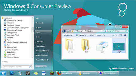 Windows 8 Consumer Preview for Win7