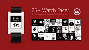 Pebble Watch Face Collection 25+ Themes