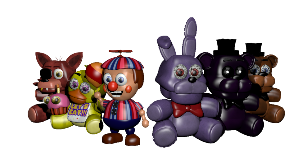 how to get fnaf plushies