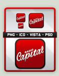 Radio Capital Tango Icon