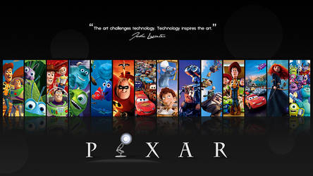 Pixar Wallpaper Updated for 2014 - 4K and 1080p by SacrificialS