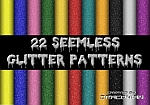 22 Seemless Glitter Patterns by Fonzarellis