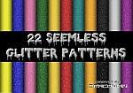 22 Seemless Glitter Patterns by Fonzarellis