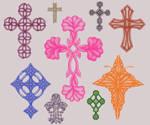 9 Cross brushes