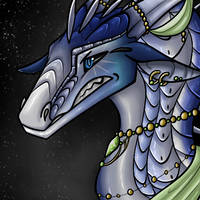 Moonscales Icon (COMM) by AlaskaDrawing