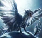 Ice dragon sibling #3