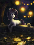Pony portrait: Rarity