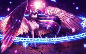 Alicorn magic by turnipBerry
