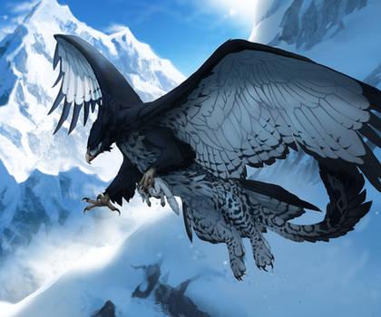 Snow Gryphon