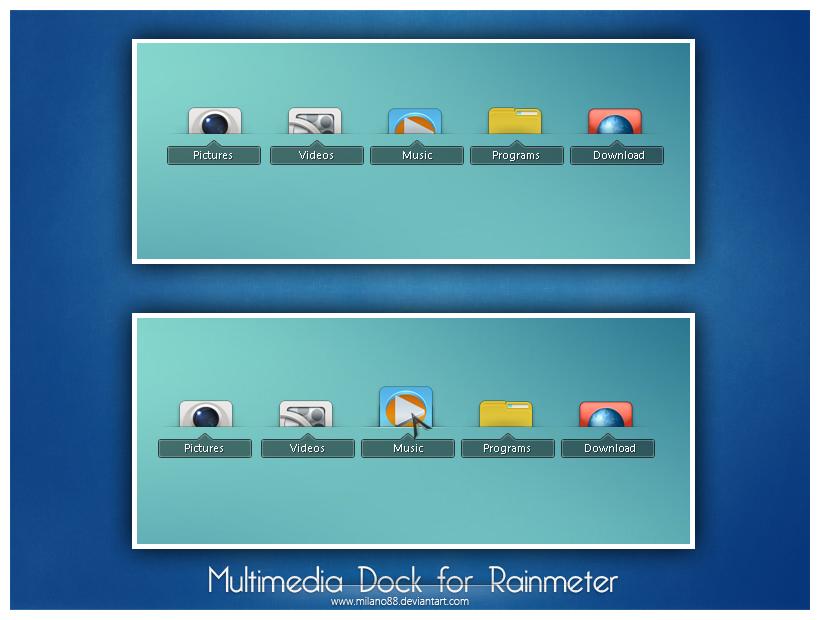 Multimedia Dock by milano88
