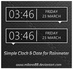 Simple Clock and Date