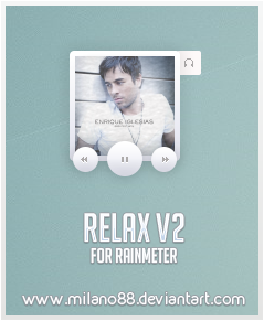 Relax V2 for Rainmeter by milano88