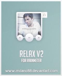 Relax V2 for Rainmeter by milano88
