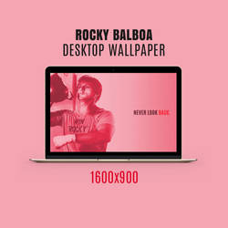 Rocky Balboa Wallpaper Design by milano88