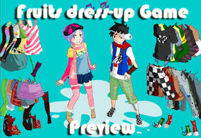 Fruits Dress-Up Game by Andorea-Chan