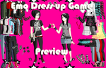 Emo Dress-Up Game