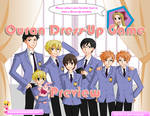 Ouran Dress-Up Game