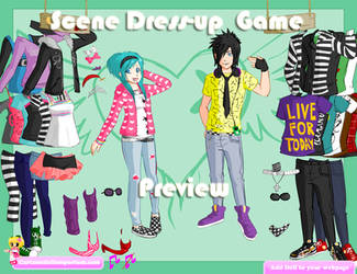 Scene Dress-up Game by Andorea-Chan