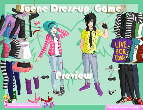 Scene Dress-up Game