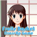 Fruits Basket Dress-Up Game