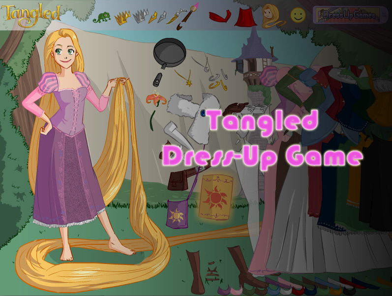 Tangled Dress Up Game By Andorea Chan On Deviantart