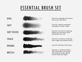 Essential Brush Set by DjamilaKnopf