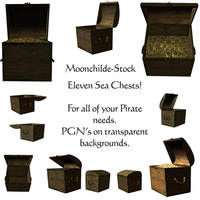 Sea Chest Stock by Moonchilde-Stock