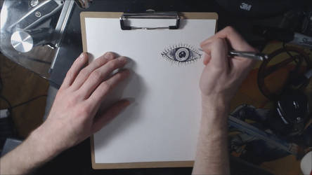 Surrealist Speed Drawing (preview) by singularitycomplex
