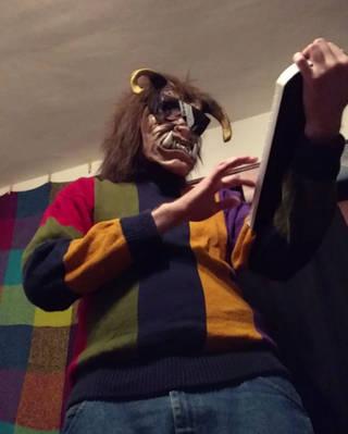 MC Sweater Beast by singularitycomplex