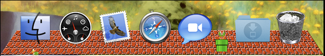Mario Dock WIP by TheSpud