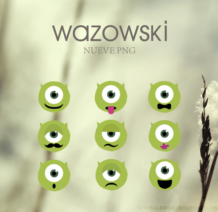 Png - Wazowski by tutorialesiiine