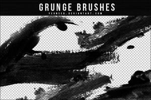 GRUNGE BRUSHES by Yeonseb