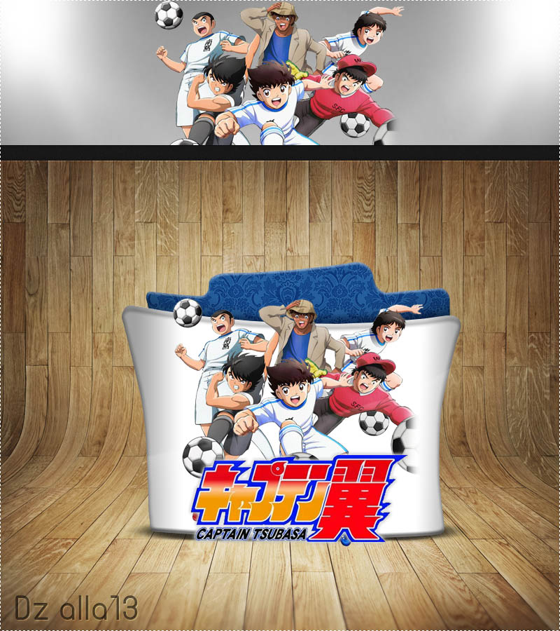 Mangaku Captain Tsubasa 2018: Captain Tsubasa (2018) Folder Icon By Alla13 On DeviantArt