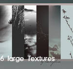 6 large Textures