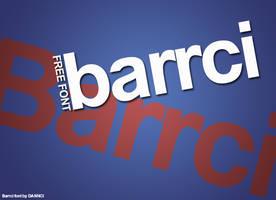 Barrci - Free Elegant Font by Dannci