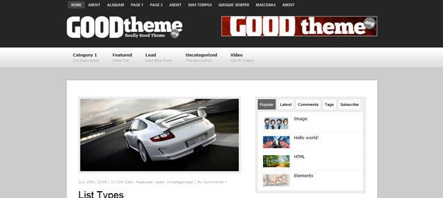 GoodTheme Lead by Dannci