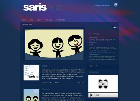 Saris WordPress Theme by Dannci