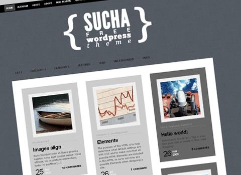 Sucha WordPress Theme