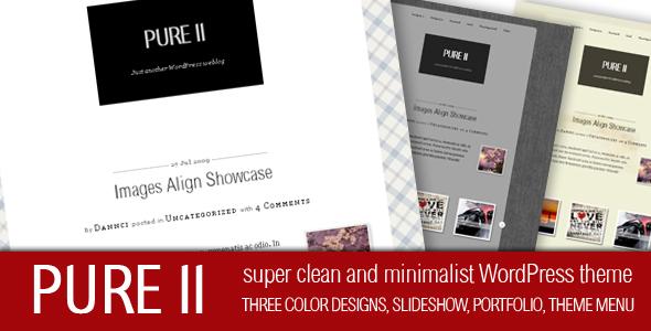 Pure II - Free WordPress Theme
