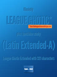 League Ghotic Extended